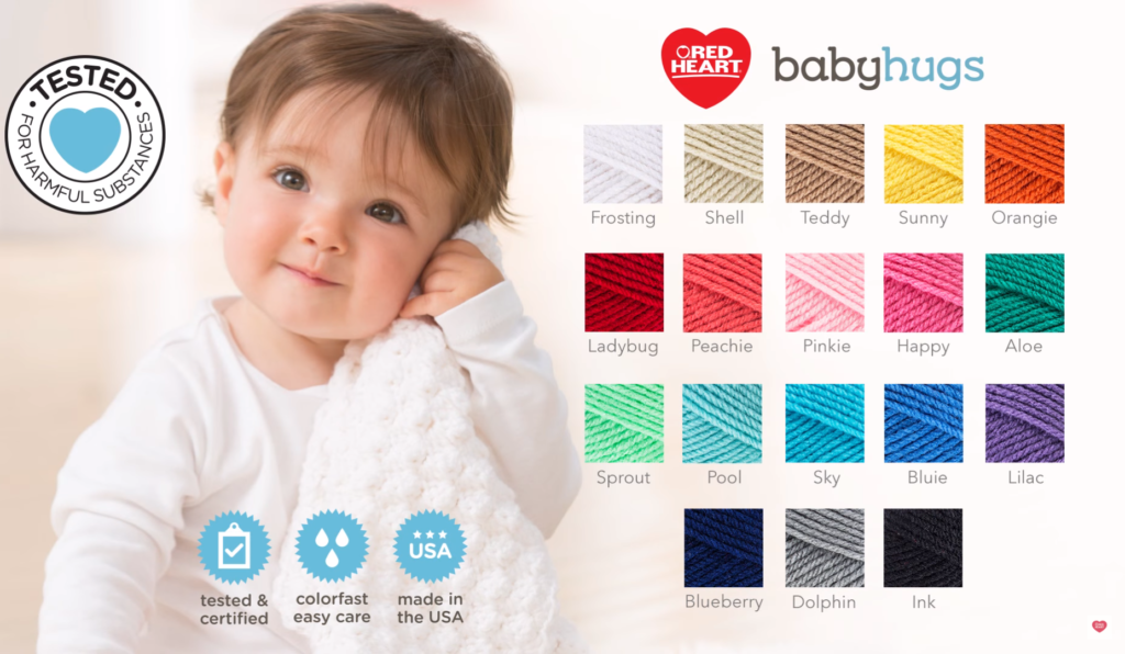 best yarn for baby blankets