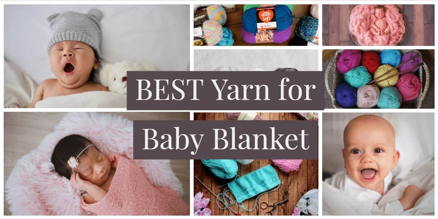 Best Yarn for Baby Blankets - #2 is the softest!